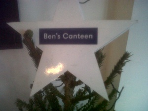 Christmas Eve at Ben's Canteen