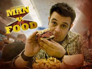 Ben's Olympic Man v Food Challenge
