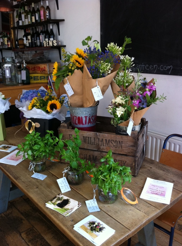 Jo Butler Flowers at Ben's Canteen