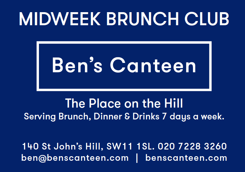 Ben's Canteen loyalty card