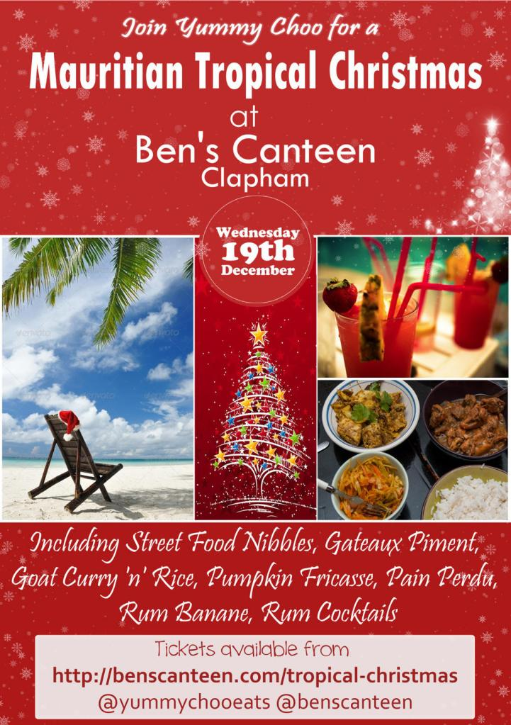 Tropical Christmas at Ben's Canteen