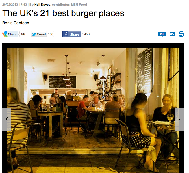 UK's Best Burger Places